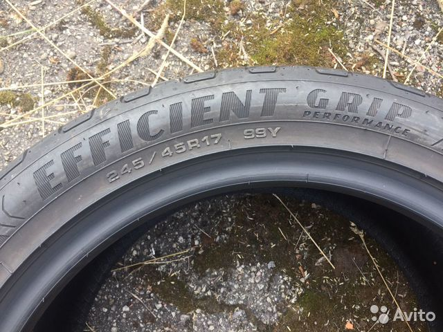 245/45 R17 Goodyear EfficientGripPerfomance 89211101675 купить 4