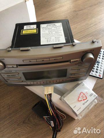 Regular radio Toyota Camry