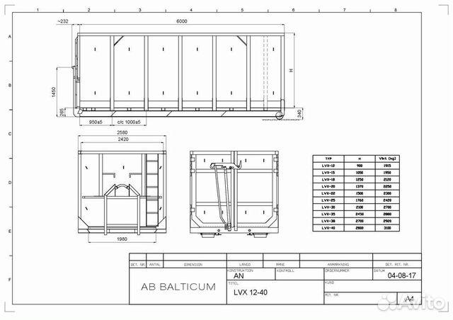 Контейнер 35 м3 кеске и пресс-контейнеры 12 м3  89062174644 купить 2