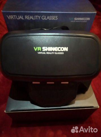 VR shinecon Виар очки 89622660118 купить 2