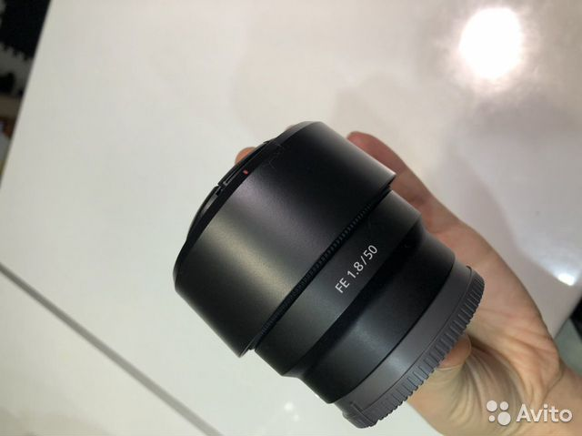 Объектив Sony 50mm 1.8 e mount