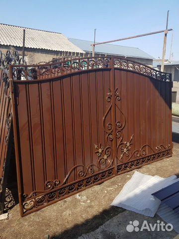 Кованые ворота 89009244646 купить 4