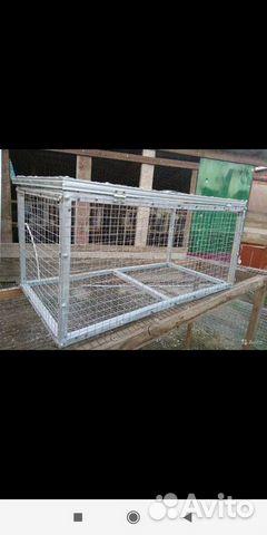 Клетки для содержания кроликов птиц и цыплят 89898713107 купить 4