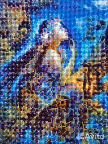 Картины алмазная вышивка и вышивка лентами  89158356890 купить 2