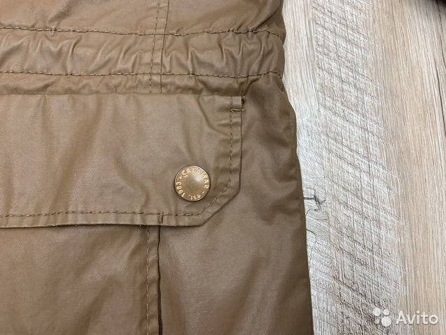 Мужская коричневая прорезиненная куртка Calamar  89218780739 купить 5
