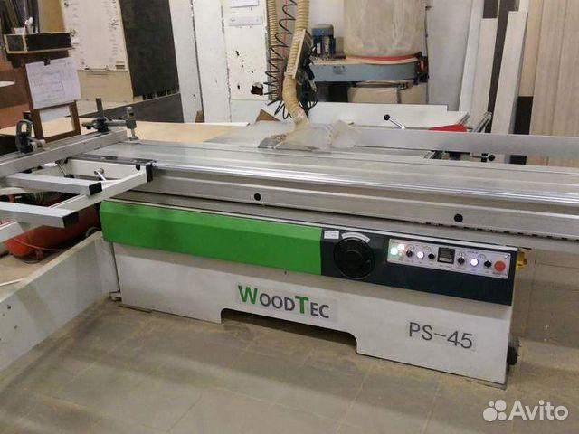 Форматно-раскроечный станок WoodTec PS 45  купить 1