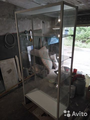 Стеклянный стеллаж (витрина для магазина)  89293686087 купить 4