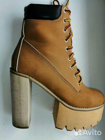 Ботинки Jeffrey Campbell, США,36 размер  89632935615 купить 5