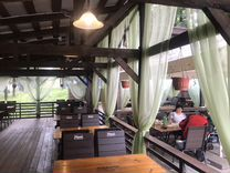 Летнее кафе в парке, готовый бизнес