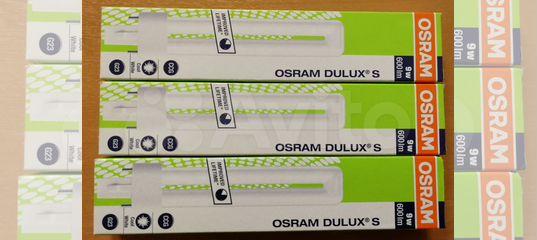 Лампа Osram Dulux S купить в Москве с доставкой | Товары для дома и дачи | Авито