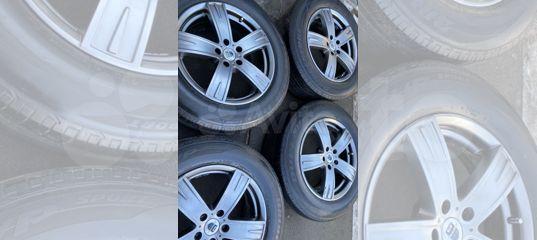 Комплект летних колес R18 Nissan Murano Z51 Z52