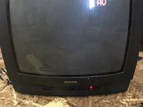 Телевизор philips 35см