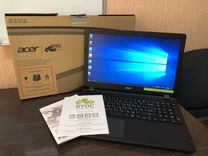 Новый Acer 15.6 HD 4 ядра Wind10 коробка