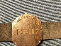 Часы Frogdog деревянные