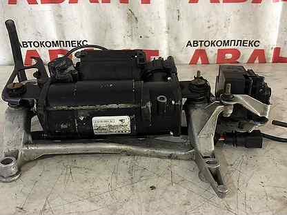 Компрессор пневмоподвески на Audi allroud