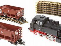 Локомотивы, вагоны, рельсовый материал piko G