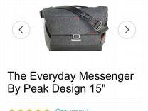 Фотосумка The Everyday Messenger by Peak Design 15