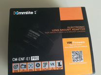 Commlite CM-ENF-E1 PRO Nikon F на Sony E