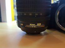 Фотоаппарат Nikon D5300 + Nikkor 18-105mm f3.5-5.6