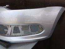 Бампер передний VW polo седан дорестайлинг
