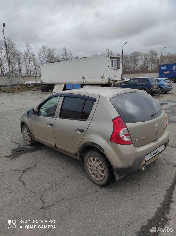 Renault Sandero, 2010  89128768355 купить 3