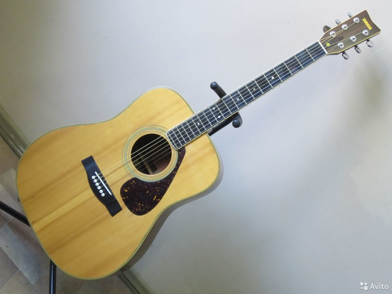 89025069832  Акустическая гитара Yamaha FG-301 (1977 Japan)