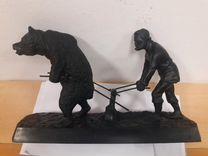 Каслинское литье пахарь 40 см — Коллекционирование в Екатеринбурге