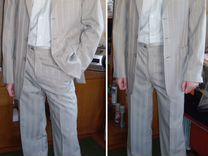 Светлый мужской костюм с рубашкой — Одежда, обувь, аксессуары в Воронеже