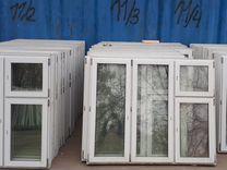 Пластиковые окна 56 шт