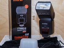Профессиональная вспышка Godox TT680N (Nikon)