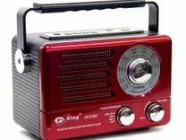 Ретро Радиоприёмник PuXing PX-P12BT bluetooth+USB