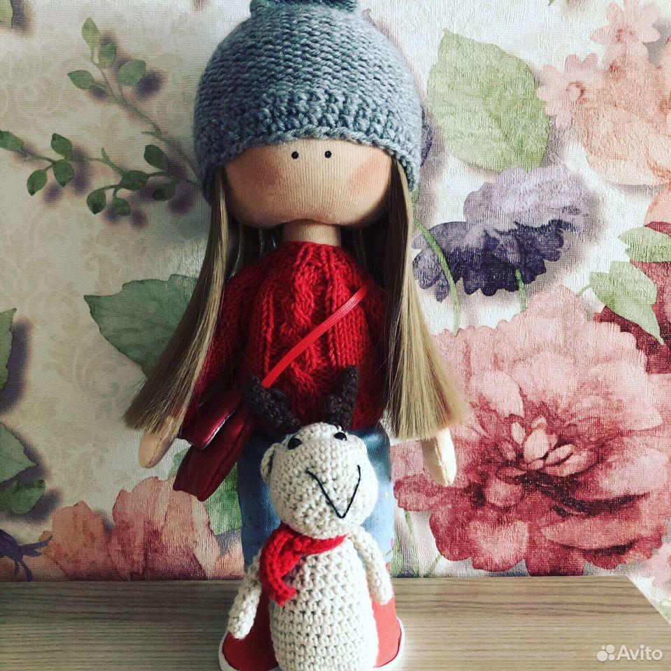 Кукла текстильная  89537610306 купить 1