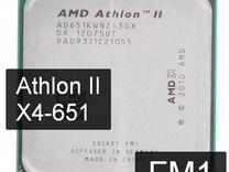 FM1 - Процессор 4 ядра - X4-651