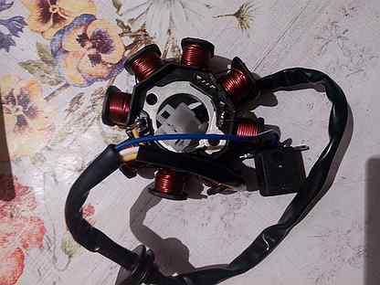 фото генератора на скутер омакс кидди горячего тиснения