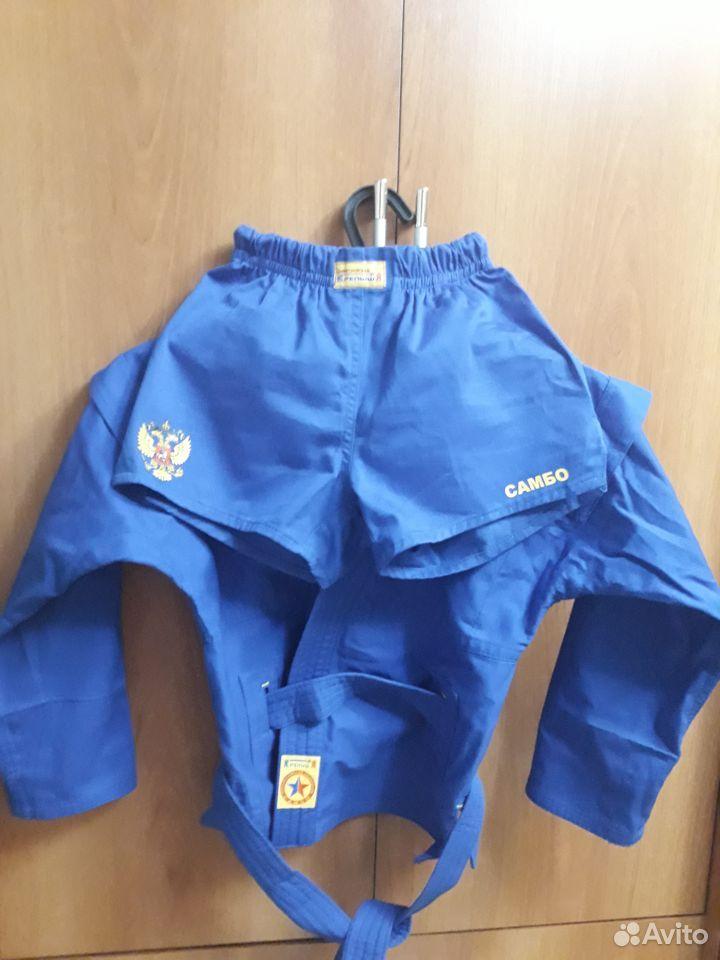 Форма для самбо синего цвета  89997709315 купить 1