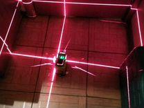 Лазерный уровень honda 12 лучей, 3*360, нивелир