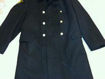 Шинель-пальто офицерская морская