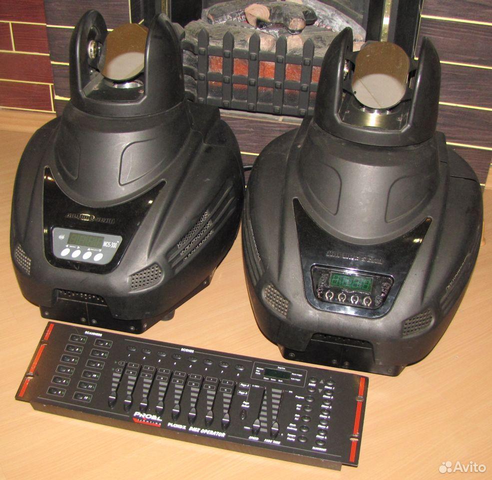 Pro светомузыка головы MOS300 2шт пульт DMX Proel  89128899109 купить 3