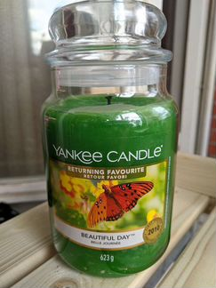 Свеча ароматическая Yankee Candle Beautiful Day