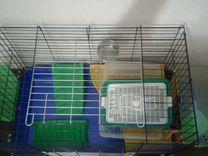 Клетка для шиншилл, кроликов, морских свинок, хорь