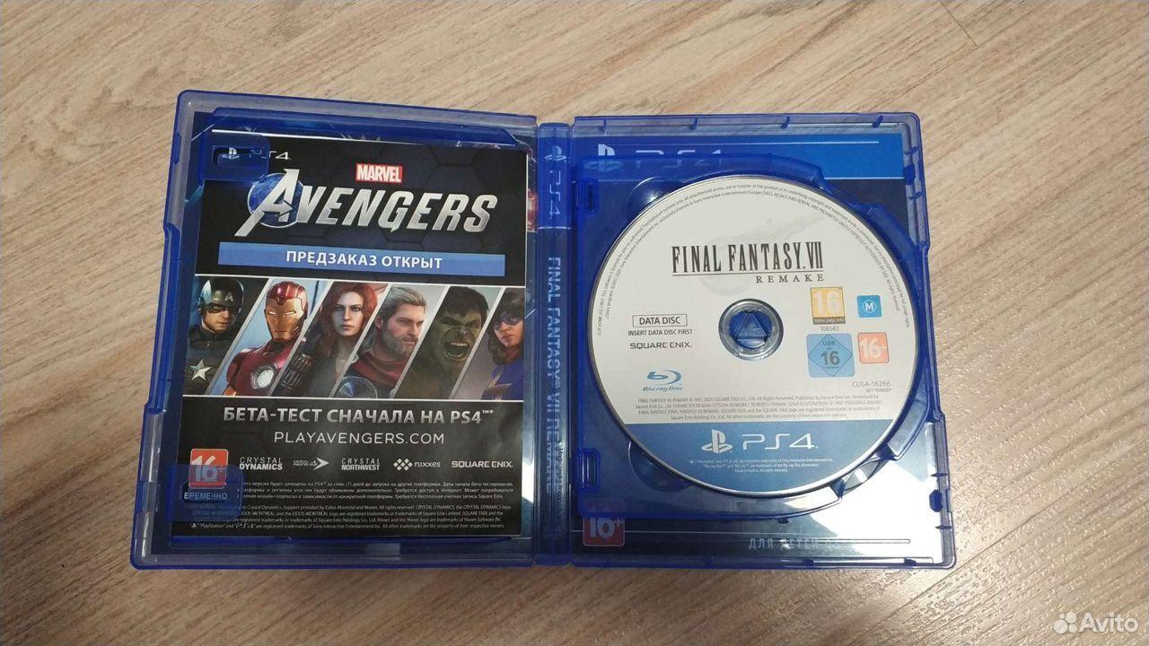 Final Fantasy VII Remake PS4  89028147177 купить 2