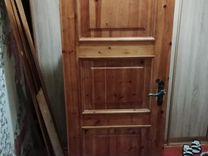 Дверь деревянная 195-75