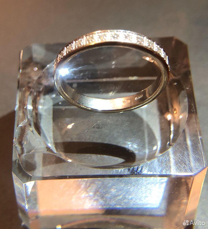 Кольцо из белого золота с бриллиантами, 31 шт  89186929911 купить 1