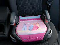 Бустер Graco Princess для девочки розовый