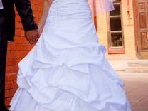 Свадебное платье + украшения в подарок