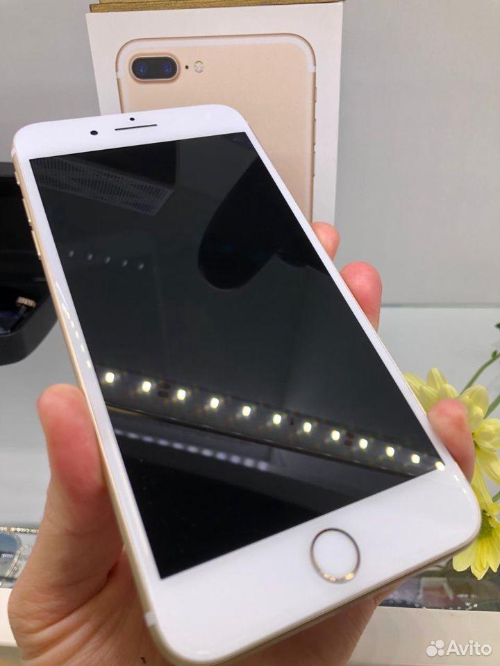 iPhone 7+ 32gb золотой идеальный на гарантии