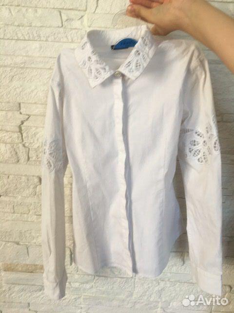 Белая рубашка Junior Republic, 128-134 см  89061562217 купить 3