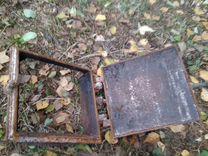 Старинная дверца для печки