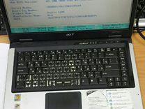 Ноутбук Acer5101awlmi Рабочий. Можно на запчасти
